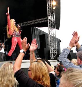 Konsert i Løkken.