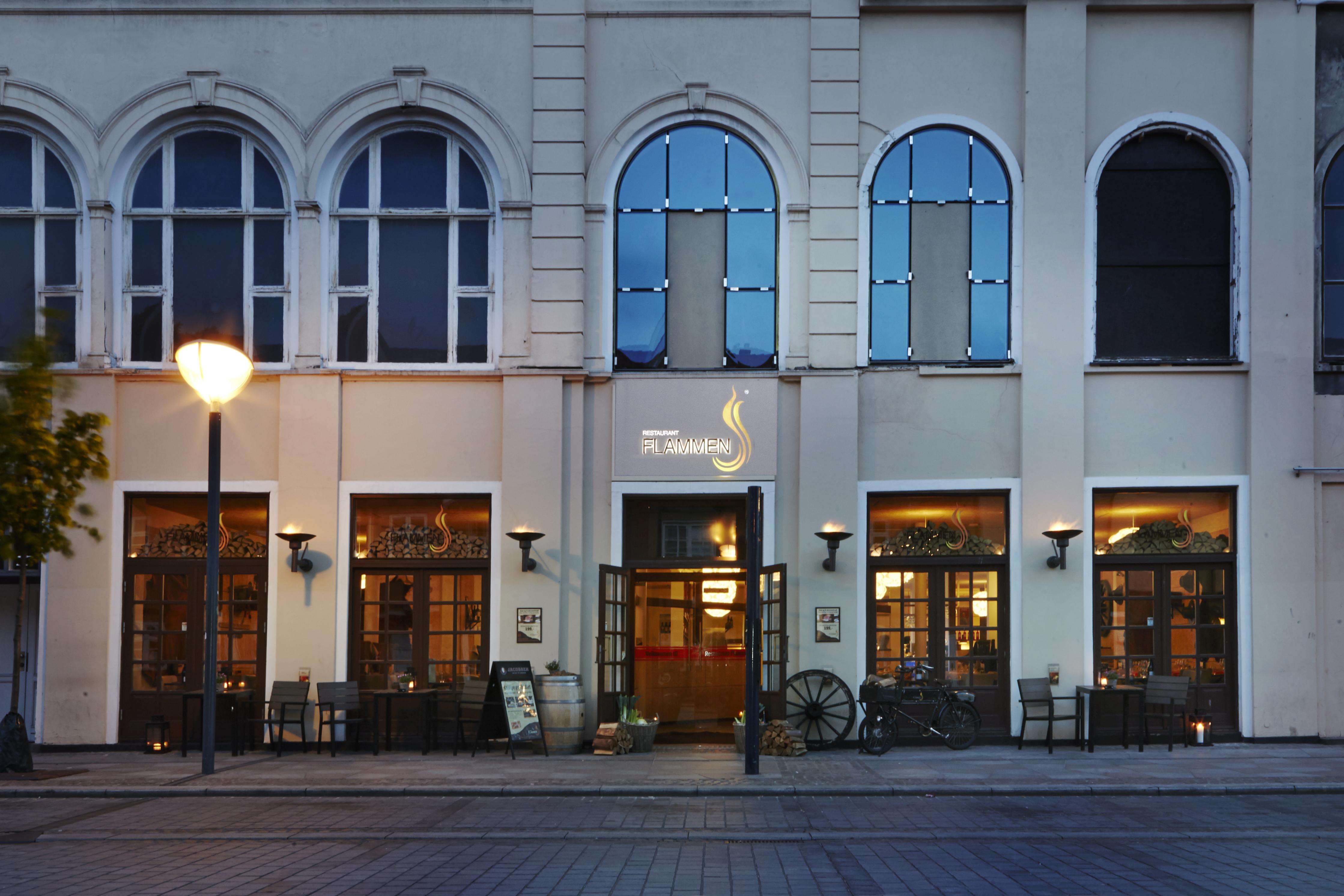 Julemeny på Flammen i Aalborg.